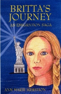 Britta's Journey, Ann Marie Mershon, emigration, Scandinavian, middle grade historical fiction