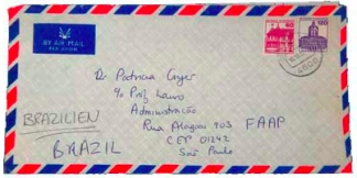 air mail letter