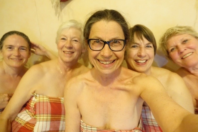 ladies in the Turkish bath
